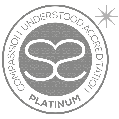 Congratulations to Medivet Thurmaston. For achieving Compassion Understood Platinum accreditation